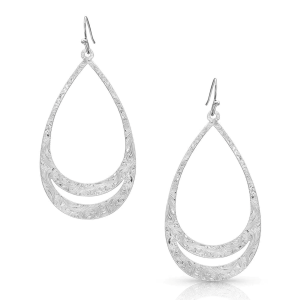Women's  Think Twice Teardrop Earrings