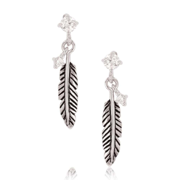 Feather Whispers Earrings