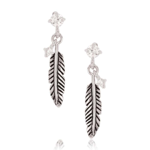 Women's  Feather Whispers Earrings