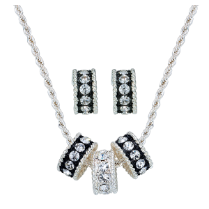 Women's  Crystal Shine Jewelry Set