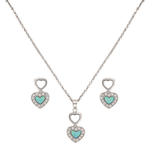 Women's  River Lights in Love Jewelry Set