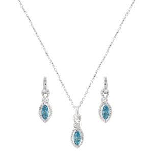 Women's  Lassoed Blue Starlight Jewelry Set