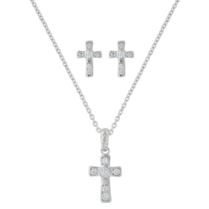 Women's  A Mark of Faith Cross Jewelry Set