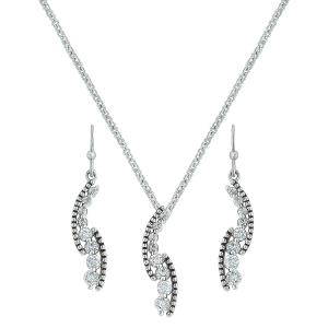Women's  Sparkling Pathway Jewelry Set