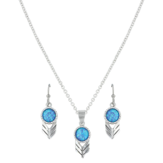 Women's  Perfect Sky Flower Jewelry Set image