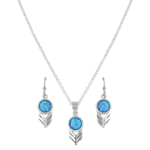 Women's  Perfect Sky Flower Jewelry Set