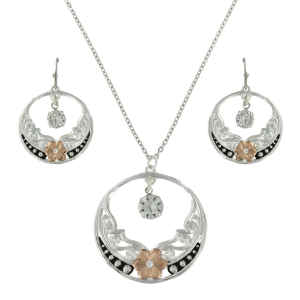 Women's  Evening Star's Wild Rose Jewelry Set