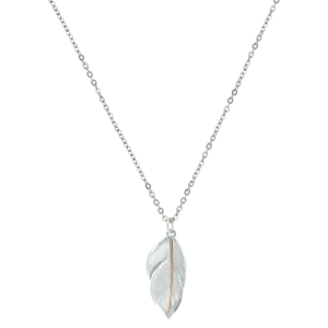 Women's  Downy Feather Necklace