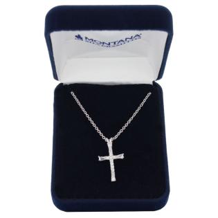 Montana Silversmiths Faith on a Loop Cross Necklace