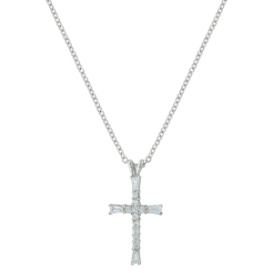 Women's  Radiant Faith Cross Necklace