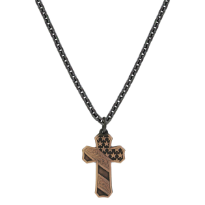Men's  Faded Glory Cross Necklace