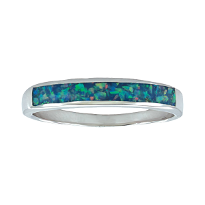 Women's  River of Lights Northern Water Opal Ring