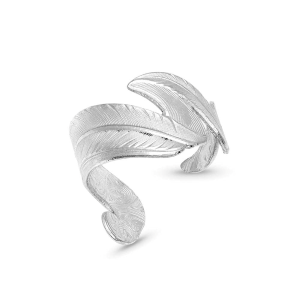 Women's  Free Spirit Adjustable Feather Ring