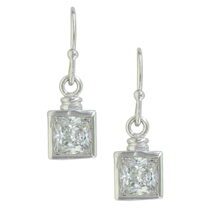 Women's  Sterling Lane Points of Reflection Earrings