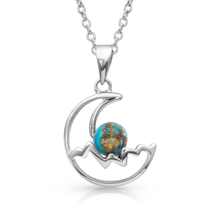 Women's  Pursue The Wild Another Mountain Turquoise Necklace