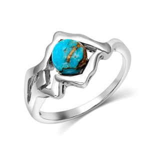 Women's  Pursue The Wild Another Mountain Turquoise Ring