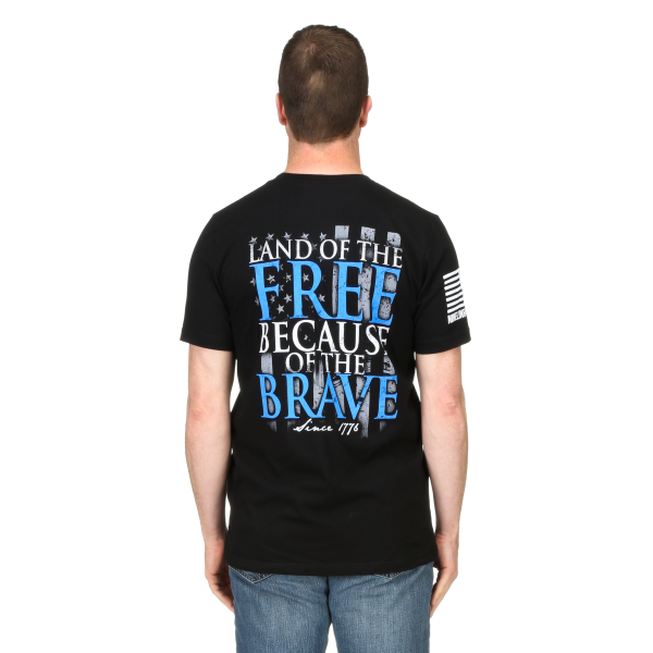 Because of the Brave Short Sleeve Tee