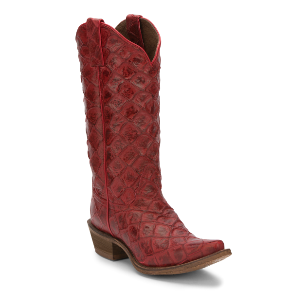 Bessie Red Western Boot