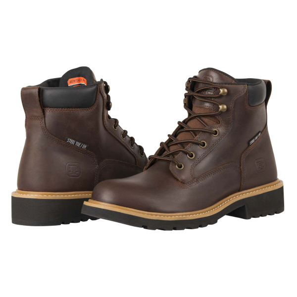 "Rivet 6"" Safety Toe Work Boot"