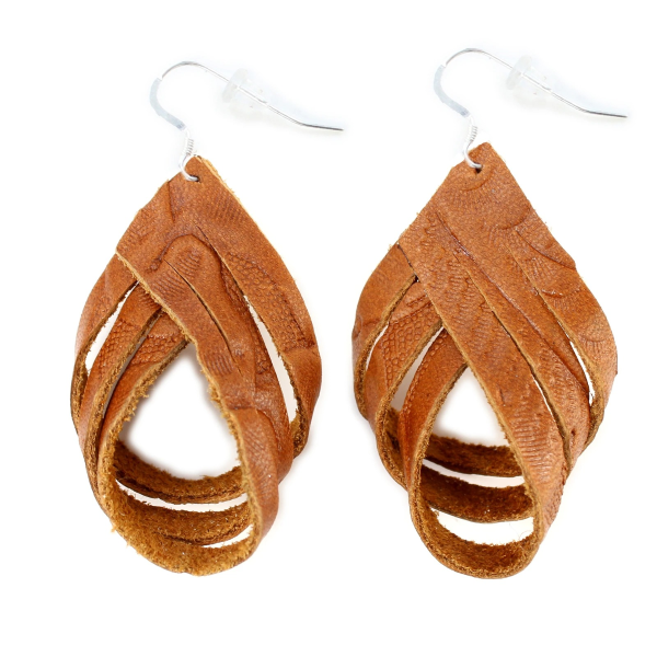 The Free Spirit Tooled Earrings