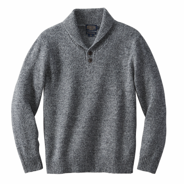 Stetland Shawl Collar Pullover Sweater