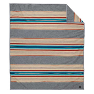 Serape Blanket Robe - Gray