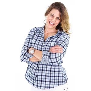 Women's  Givens Plaid Workshirt