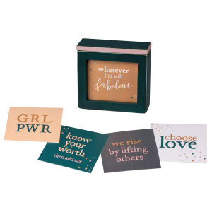 Empower Words Of Wisdom Keepsake Box