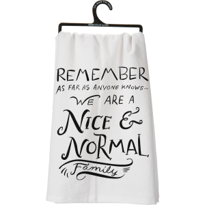 Nice and Normal Dish Towel