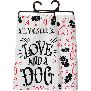 And A Dog Dish Towel