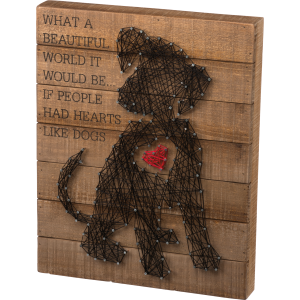 Puppy Heart String Art