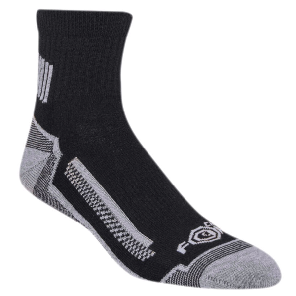 3-Pack Force High Performance Work Quarter Sock
