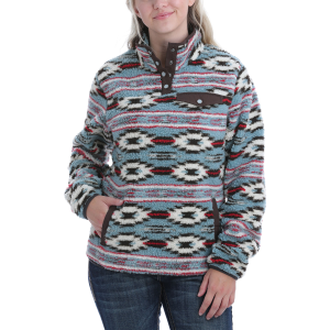 Women's  Jacquard Fleece Pullover