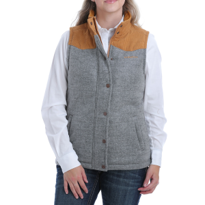 Women's  Tweed Vest