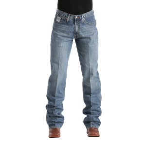 Men's  White Label Jean - Light Stonewash