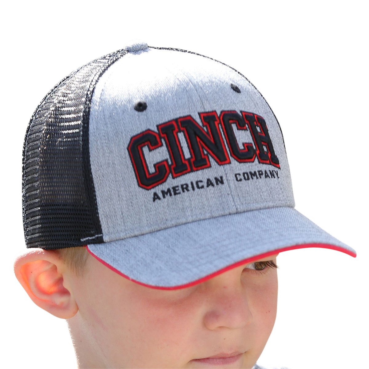 Cinch - Boys  Logo Snapback Trucker Cap 3c4235678dc