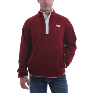 Men's  Heavyweight Henley Sweater