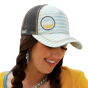 Women's  Big Bison Pass Patch Snapback Cap