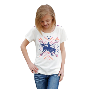 Girls'  Aztec Rodeo Tee