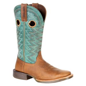 "Women's  Lady Rebel Pro Teal 12"" Western Boot"