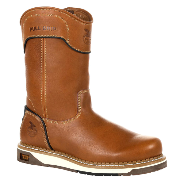 "Amp LT Wedge 10"" Pull On Work Boot"