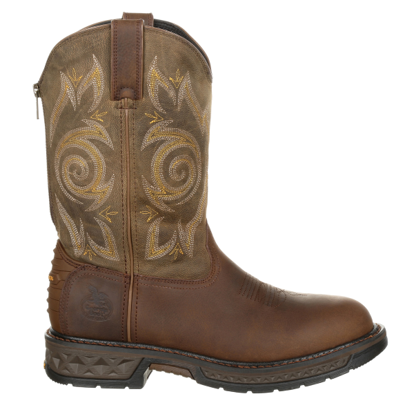 "11"" Carbo-Tec LT Pull-On Work Boot"