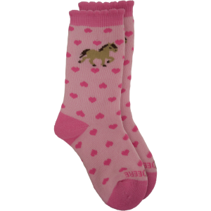 Kids'  Infant/Toddler Pony Heart Crew Sock