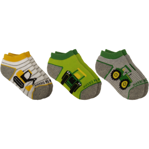 Kids'  Infant/Toddler 3-Pack Shortie Socks