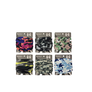 Unisex Camouflage Neck Gaiter - Assorted Colors
