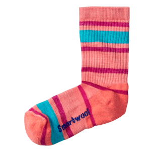Kids'  Striped Hike Light Crew Sock