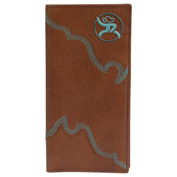 Roughy Signature Boot Stitch Rodeo Wallet