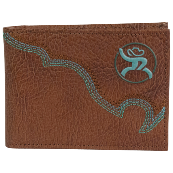 Roughy Signature Boot Stitch Bi-Fold Wallet