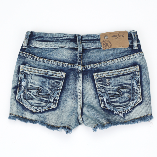 2afbc028 Murdoch's – Silver Jeans - Girls' Lacy Denim Short