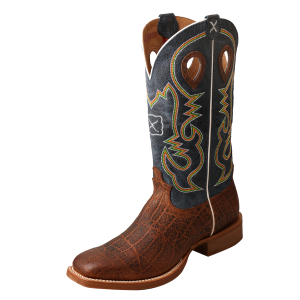 Men's  Ruff Stock Wide Square Toe Boot